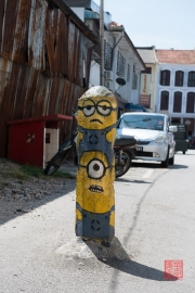 Malaysia 2013 - Georgetown - Street Art - The Minions
