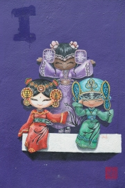 Malaysia 2013 - Georgetown - Street Art - Women