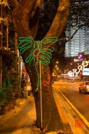 Malaysia 2013 - Kuala Lumpur - Tree-Lights