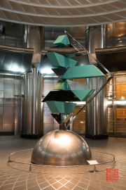 Malaysia 2013 - Kuala Lumpur - Petronas Towers - Sculpture