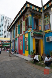 Singapore 2013 - Little India - Colorful Building