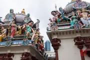 Singapore 2013 - Sri Mariamman Temple - Sculptures II