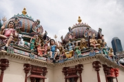 Singapore 2013 - Sri Mariamman Temple - Sculptures I