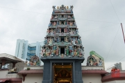Singapore 2013 - Sri Mariamman Temple - Entrance
