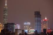 Taiwan 2013 - Taipeh 101 & District by Night