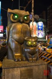 Taiwan 2013 - St. Raohe Night Market - Owls