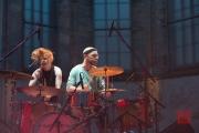 St. Katharina Open Air 2014 - Wallis Bird - Drums Solo/Duo