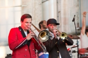 St. Katharina Open Air 2014 - Pullup Orchestra - Maurus & Soulfill Franklin