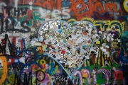 Prague 2014 - Lennon Wall - Heart