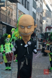 Cortege Basel 2012 - Vorstadt Hyler - Tambourmajor