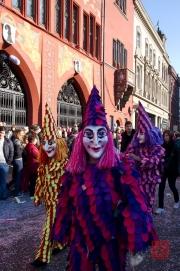 Cortege Basel 2012 – Waggis Dame III