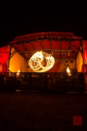 MPS Mosbach 2012 - Feuerspektakel - Spiral Fire II