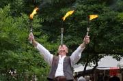 MPS Speyer 2012 - Kraftjongleur Bagatelli - Kerzenhalter