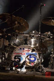 Insel in Concert 2012 - Simple Minds - Schlagzeug