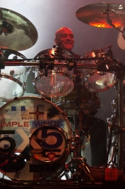 Insel in Concert 2012 - Simple Minds - Mel Gaynor