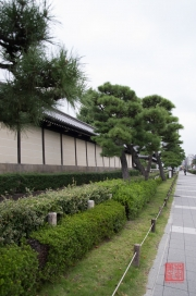 Japan 2012 - Kyoto - Higashi Honganji - Wall