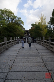 Japan 2012 - Kyoto - Oyahon Temple - Bridge