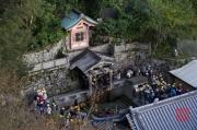 Japan 2012 - Kyoto - Kiyomizu-dera - Otowwa-no-taki waterfall