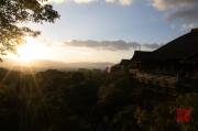 Japan 2012 - Kyoto - Kiyomizu-dera & Sun