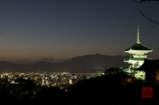Japan 2012 - Kyoto - Kiyomizu-dera - City & Pagoda