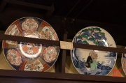 Japan 2012 - Kyoto - Porcelain shop - Plates