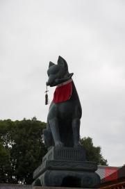 Japan 2012 - Kyoto - Fushimi Inari Taisha - Bronze Fox