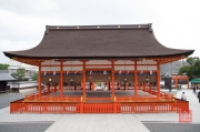Japan 2012 - Kyoto - Fushimi Inari Taisha - Ceremony Hall back