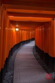 Japan 2012 - Kyoto - Fushimi Inari Taisha - Archway