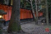 Japan 2012 - Kyoto - Fushimi Inari Taisha - Archway outside II