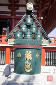 Japan 2012 - Asakusa - Kannon - Sake Barrell