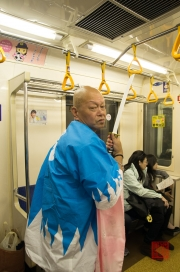 Japan 2012 - Ueno - Subway Samurai I