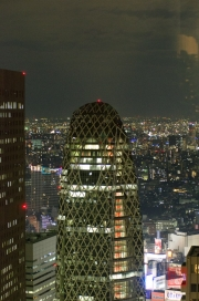 Japan 2012 - Shinjuku - Night Shoot - Business Tower
