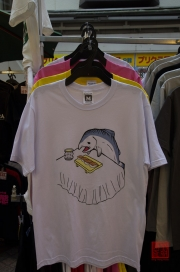 Japan 2012 - Shibuya - T-Shirt - Tuna Cannibalism