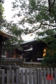 Japan 2012 - Shibuya - Meiji Shrine - Side Building
