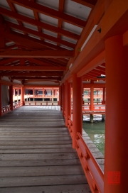 Japan 2012 - Miyajima - Itsukushima Shrine - Walkhall