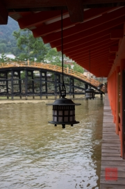 Japan 2012 - Miyajima - Itsukushima Shrine - Lantern