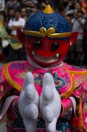 Taiwan 2012 - Taipei - Lin-Namens-Fest - Maskottchen II