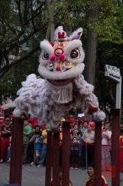 Taiwan 2012 - Taipei - Lin-Namens-Fest - Löwentanz - Impression III