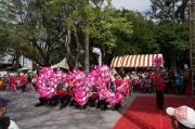 Taiwan 2012 - Taipei - Lin-Namens-Fest - Drachentanz  - Impression II