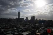 Taiwan 2012 - Taipei - Stadtbild - Taipeh 101 - Kontrast II