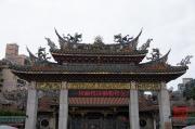Taiwan 2012 - Taipei - Longshan Tempel - Eingangstor