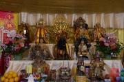 Taiwan 2012 - Taipei - Longshan Tempel - Tempelfest - Alter III