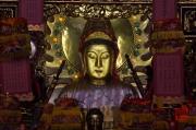 Taiwan 2012 - Taipei - Longshan Tempel - Hauptgott