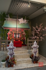 Taiwan 2012 - Taipei - U-Mall - Japanese Shrine - Anime Style