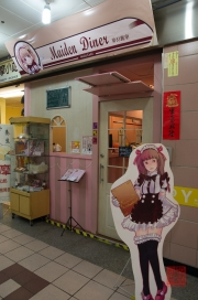 Taiwan 2012 - Taipei - U-Mall - Maid Cafe - Maiden Dinner