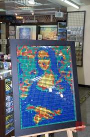 Taiwan 2012 - Taipei - U-Mall - Rubrik Cube - Mona Lisa