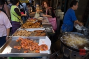 Taiwan 2012 - Taipei - Beitou - Markt - Fischstand