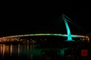 Taiwan 2012 - Taipei - Tamsui - Fishermans Wharf - Bridge Green
