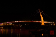 Taiwan 2012 - Taipei - Tamsui - Fishermans Wharf - Bridge Orange