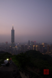 Taiwan 2012 - Taipei - Elephant Mountain - Taipeh 101 Night I